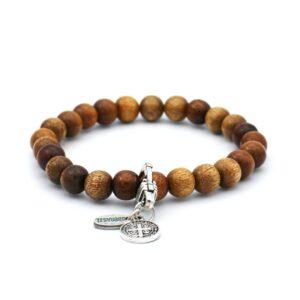 Overzicht foto van bruine heren armband van ons eigen merk bbbrasil beschikbaar om te kopen in onze webshop